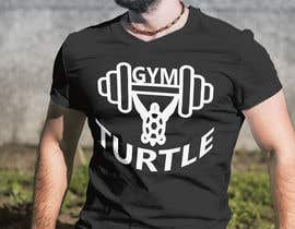 #55 for Design a T-Shirt Design for Gym Turtle by RafeursDesign