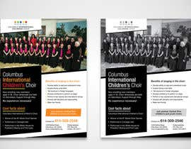 #49 for Design a Classy Professional-Looking Flyer for the Premier American choir by karimulgraphic