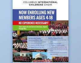 #66 for Design a Classy Professional-Looking Flyer for the Premier American choir by Rybnipet