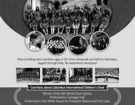 #61 for Design a Classy Professional-Looking Flyer for the Premier American choir by vividworx