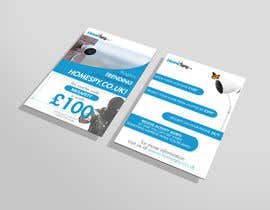 #30 for Design a two side A5 Flyer for home security installation company by SaladSauce