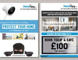 #28 for Design a two side A5 Flyer for home security installation company by Fafathinfhin