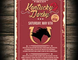 #15 for 11x17 Graphic for Kentucky Derby Party by dobricacebic
