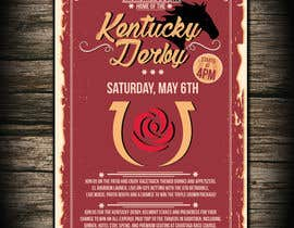 #16 for 11x17 Graphic for Kentucky Derby Party by dobricacebic