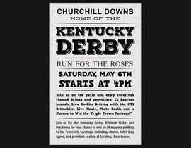 #5 for 11x17 Graphic for Kentucky Derby Party by CGplus