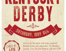 #11 for 11x17 Graphic for Kentucky Derby Party by zhoocka
