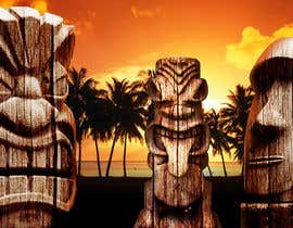 #5 for Design a large high quality Tiki Poster by zhoocka