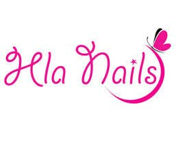 #71 for Hla Nails logo by jhgdyuhk