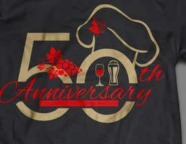 #48 for Design a Logo for 50th Anniversary Event by Warna86