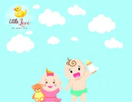 #3 for Graphic Design: Baby Theme Background by diegoalbaga