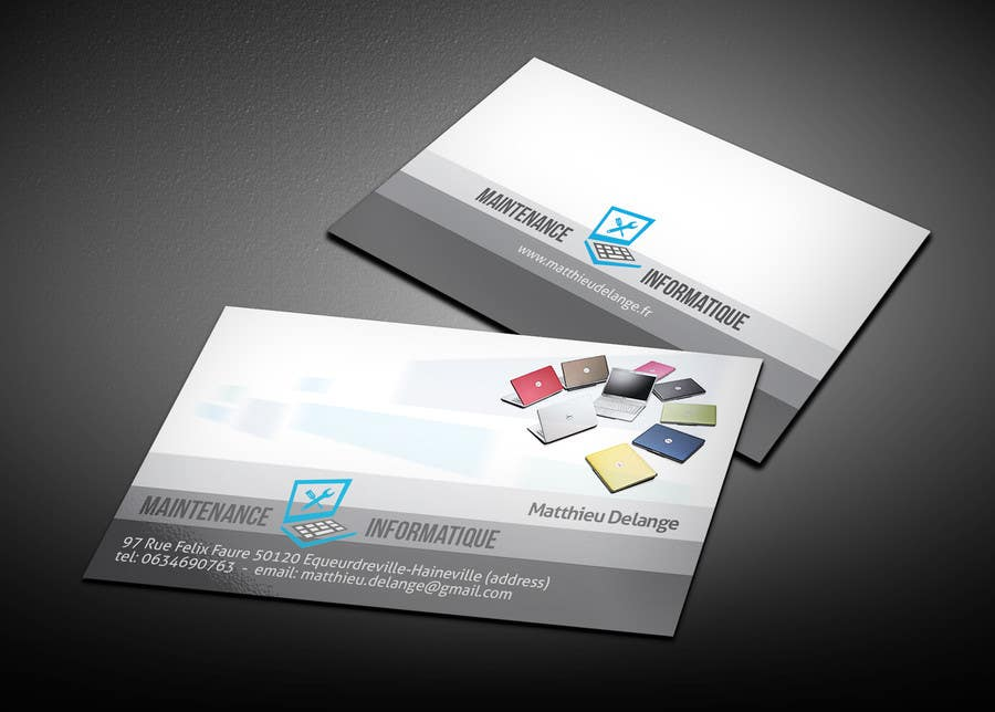 Entry #19 by mthmb for Business cards computer repair | Freelancer
