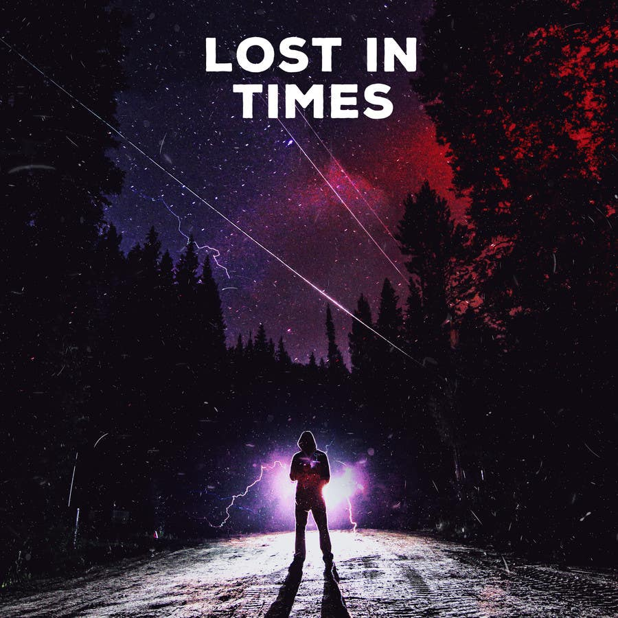 """Contest Entry #35 for I need a graphic Design for CD front cover. """"Lost in Times"""""""