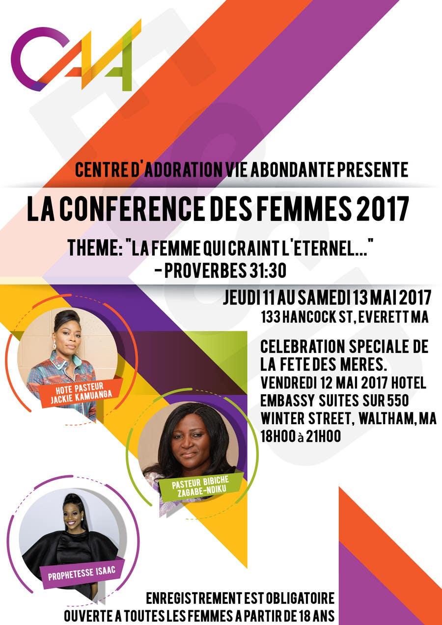 Proposition n°3 du concours Conference des Femmes 2017