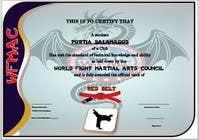 Graphic Design Contest Entry #18 for Design some Certificates
