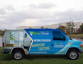 #45 for Vehicle Wrap for 2005 Ford E-150 Van by esatheboss