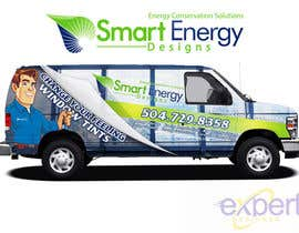 #39 for Vehicle Wrap for 2005 Ford E-150 Van by Experttdesigner