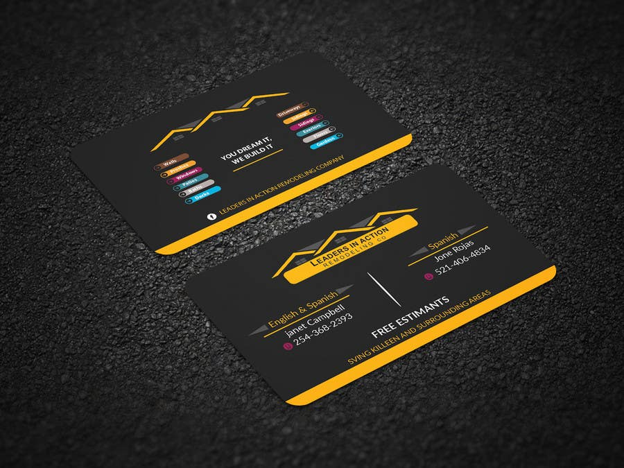 Contest Entry #121 for Design some Business Cards