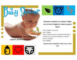 #4 for Desing a babyshower invitation by virgo07m
