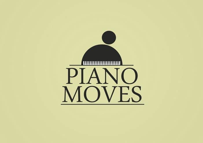 Συμμετοχή Διαγωνισμού #106 για Logo Design for Piano Moves