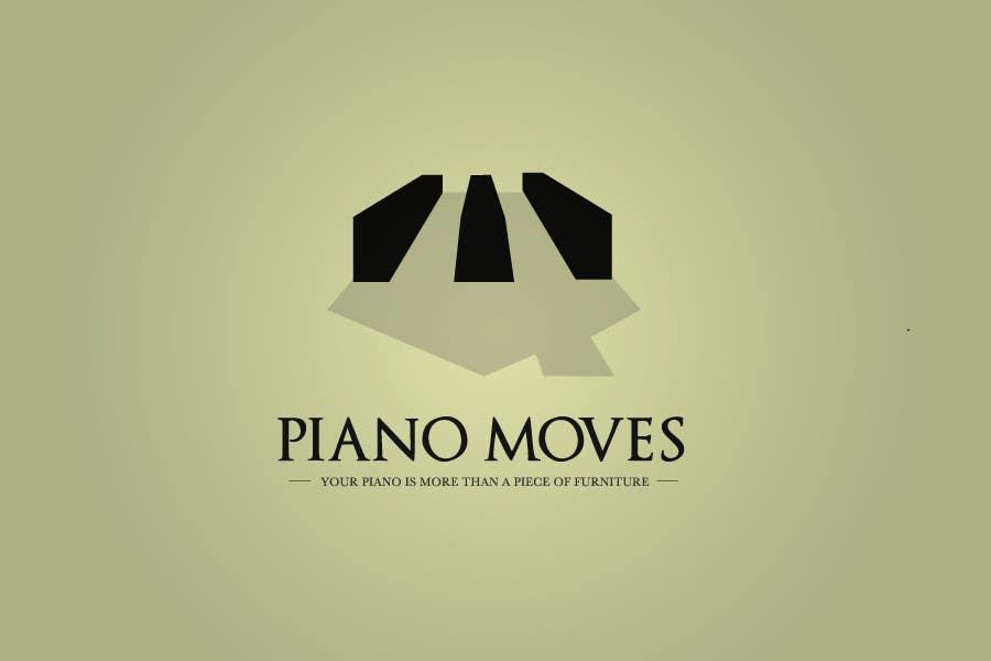 Συμμετοχή Διαγωνισμού #33 για Logo Design for Piano Moves
