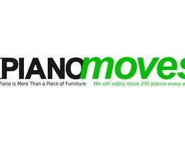 #201 for Logo Design for Piano Moves by zkos
