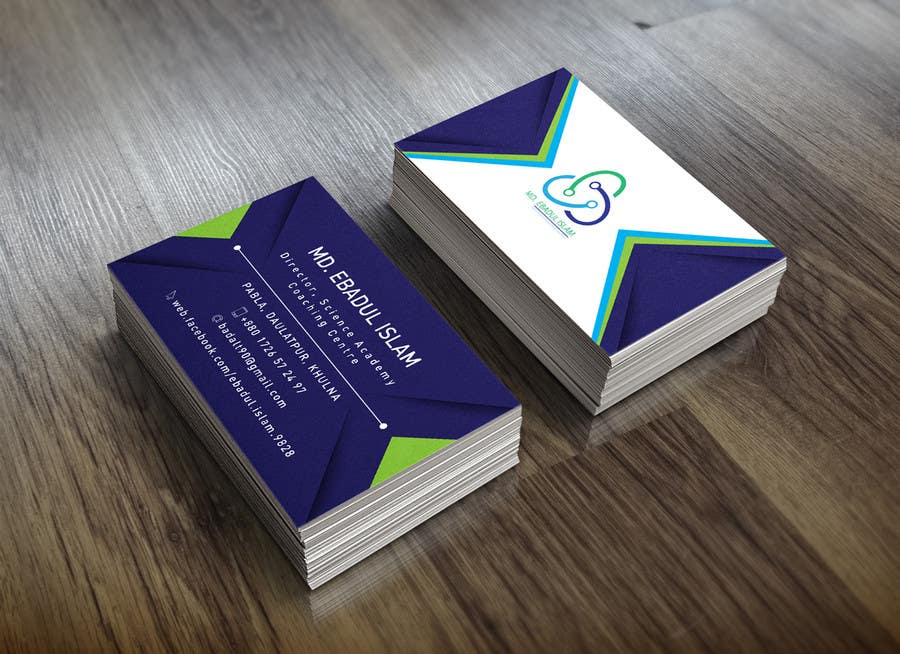 Entry #26 by EvoGraphics for Simple and creative Business Card ...