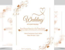 #15 for Order of Service - Wedding Design by fastaiddesigner