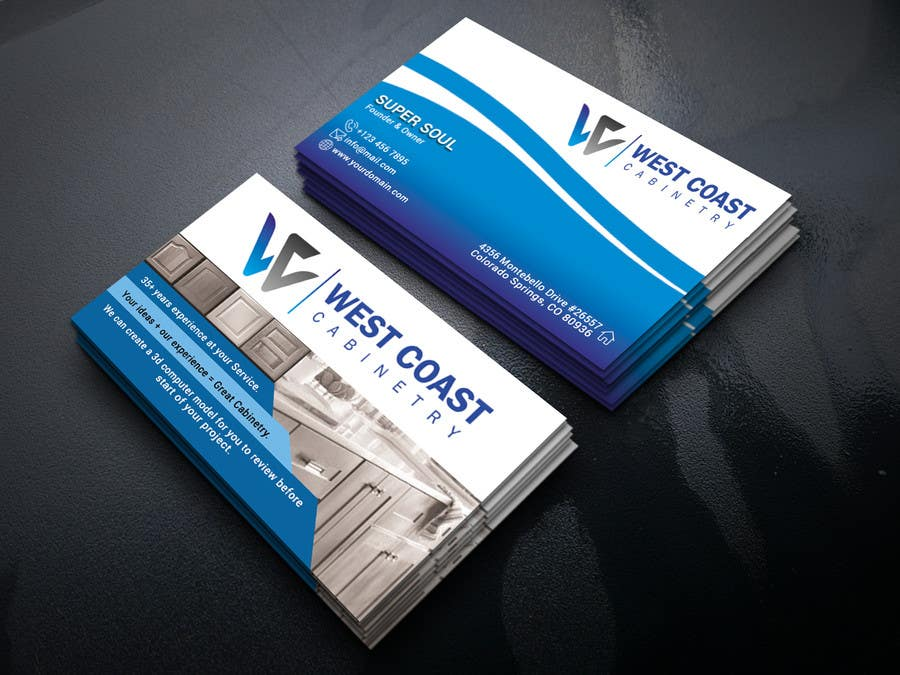 Entry 145 By Supersoul32 For Design An Awesome Business Card
