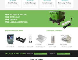 #7 for Redesign a PRODUCTS & PRICING page for box rental company by vivekdaneapen