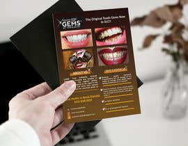 #35 for Design a Snazzy Dazzly Flyer for ToothGems By MoMo!! :)~ by ROCKdesignBD
