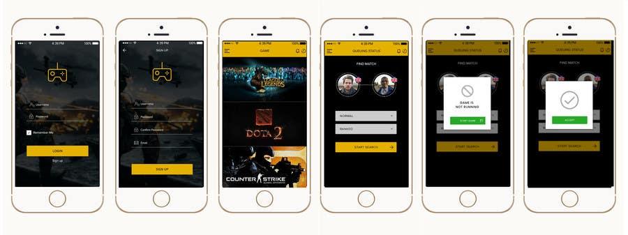 ผลงานการประกวด #2 สำหรับ Design Amobile app