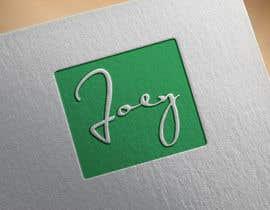 #77 pentru Joey Logo Design de către MstShakila