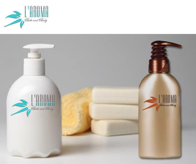 Contest Entry #122 for Logo Design for L'Aroma Bath and Body