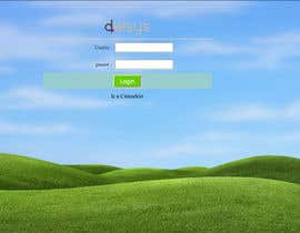 nº 11 pour Design a Login Page with an animated wallpaper par ibrahimbhuyin
