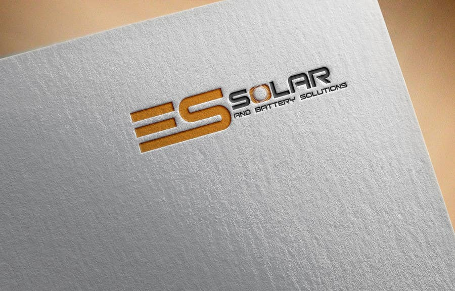 Contest Entry #161 for Logo for business - ES Solar and Battery Solutions