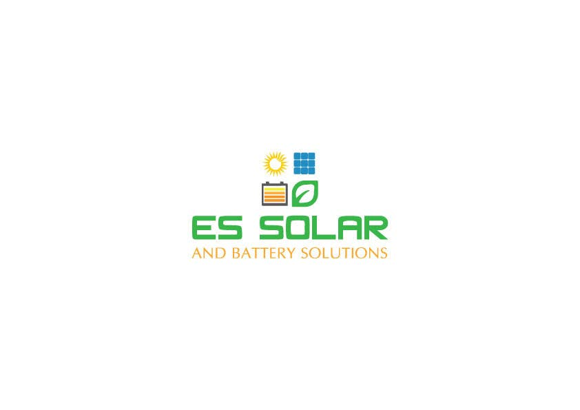 Contest Entry #175 for Logo for business - ES Solar and Battery Solutions