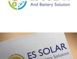 #203 for Logo for business - ES Solar and Battery Solutions by danukalaksitha