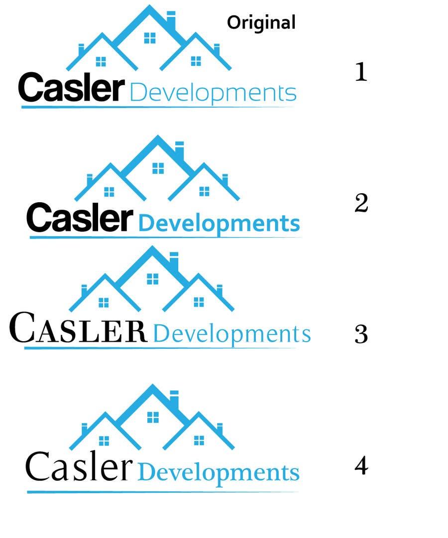 Penyertaan Peraduan #3 untuk Logo Design for Casler Developments