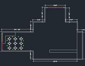 nº 1 pour Create a Motel Hallway in AutoCad par Boukheit25210