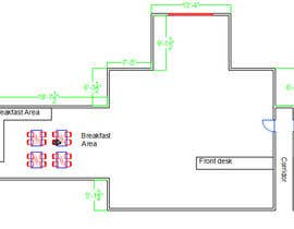 #12 for Create a Motel Hallway in AutoCad by mayankk104