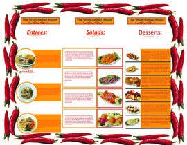 #2 for Design a Menu For A Restaurant by bismillahit