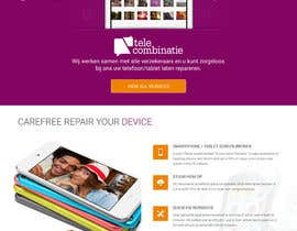 nº 5 pour Design a Website Mockup, mobile phone shop, repair and more par webmastersud