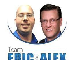 nº 28 pour Design a Logo for Team Eric and Alex par BarbaraGRibeiro