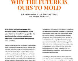 nº 8 pour Designing a magazine par WebDesignersGa