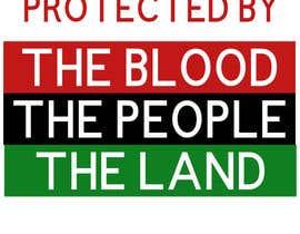 nº 76 pour RED BLACK AND GREEN (BLACK LIBERATION) FLAG par gigikadagishvili
