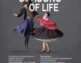 nº 1 pour Design poster for Dance show par kilibayeva