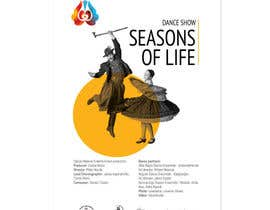 nº 7 pour Design poster for Dance show par kilibayeva