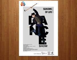 nº 15 pour Design poster for Dance show par sairalatief