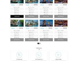nº 19 pour Redesign of a travel agency website par zaighum110