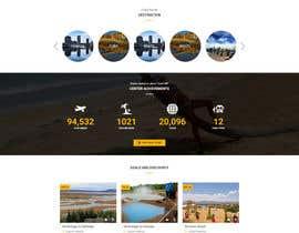 nº 7 pour Redesign of a travel agency website par gireeshvfx